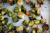 Honey Garlic Roasted Brussels Sprouts – brussel sprouts that are tender on the i…   – vegetables