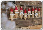 Unglaubliche umwerfende rustikale Ideen zu Händen die Weihnachtsdekoration