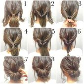 Fast simple formal hairstyles –  Quick simple formal hairstyles step by step up …