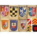 Estandartes Y Pendones Medievales Militares Y Religiosos Tienda Medieval Estandartes Medieval Pendon