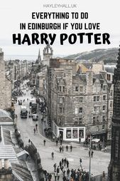 A Harry Potter Fan's Guide To Edinburgh – everything to do and see