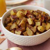 Papas asadas fáciles para el desayuno   – Vegan