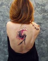 40 poetic watercolors with Simona Blanar  – Tattoo-Ideen