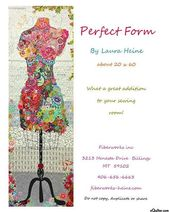 Fiberworks' Perfect Form Quilt Pattern by Laura Heine – Patch  2