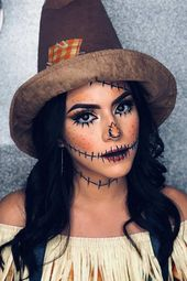 24+ Scarecrow Makeup Ideas For Halloween Recommended For You