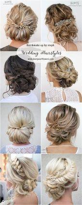 #beach wedding hair styles #wedding hair medium length updo #extensions wedding …#beach #extensions #hair