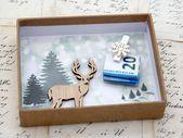 Photo of Geld Geschenkverpackung Weihnachten Weihnachten Schneeflocke Hirsch Natur Geld Geschenke …