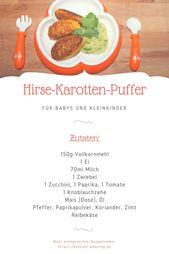 Hirse-Möhren-Puffer mit Koriander und Kartoffelpüree   – Essen & Trinken / Eat & drink