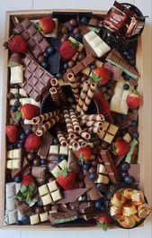 Wenn ein Freund Sie bittet, einen Schokoladenteller für die Babyparty zu kreieren …   – Essenslieebe