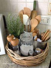 New Smart DIY Kitchen Organizing Ideas