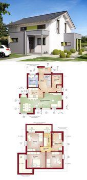 MODERNES SATTELDACHHAUS Celebration 125 V7 Bien Zenker – Bau eines Einfamilienhauses …   – 주택