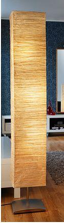 New IKEA Floor Lamp Rice Paper Shade Soft Art Mood Light 61\