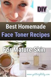 Make Yourself The Natural Face Toners to Fight Aging and Moisturize Your Skin