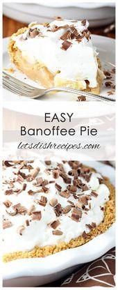 Einfache Banoffee Pie