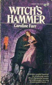 Witch's Hammer de Caroline Farr • Romance gothique vintage   – Vintage Gothic Romance
