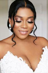 30 Black Bride Make-up Concepts