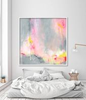 Large wall art, abstract painting print, large art prints, modern painting