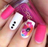 #flowernaildesigns   – flower nail designs