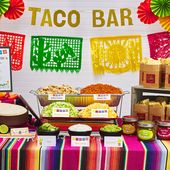 DIY Taco Bar Party Ideas