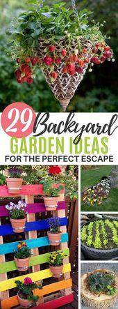 29 Breathtaking DIY Gardening Ideas for Your Yard
