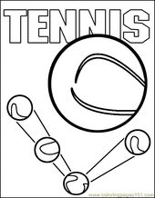 Printable Tennis Pages Free Printable Coloring Page Tennis Coloring Page 02 Sports Othe Sports Coloring Pages Free Printable Coloring Pages Coloring Pages