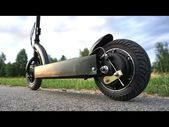Making Electrical Scooter utilizing a Gearless Motor