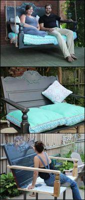 20+ cool DIY garden furniture ideas
