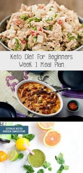 Keto Diet For Beginners Week 1 Meal Plan – Nutrition