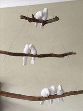 Vögel auf dem Ast #Blumen #Skulptur #Keramik #Keramik #Keramik – Harmoni Voge …   – Keramische Kunst