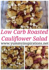 Low Carb Roasted Cauliflower Salad Recipe – Easy Keto Winter Salad