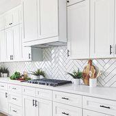 Basic White 4×12 Polished Ceramic Wall Tile Kitche…