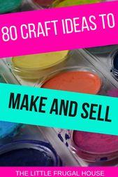 80 Handwerk zu machen und zu verkaufen