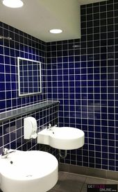 Rainbow Gloss Blue 100x100 Code 01037 Toilet Design Tiles Online Wall Tiles