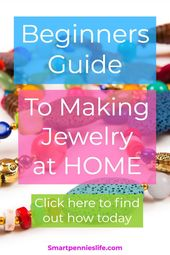 Beginner's guide to making your own jewelry (at home), #Beginner #Fashionje …