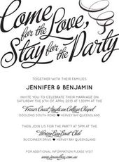 Wedding Invitation Wording Ideas | Unusual wedding invitations ...