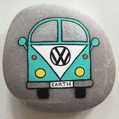 DIY-Ideen von gemalten Felsen mit inspirierendem Bild und Worten (20) – #Bild #D