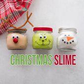 DIY Slime CHRISTMAS SLIME 🎄