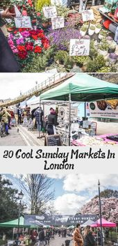 Planning your Sunday in London? Start with these cool London Sunday markets – 20…