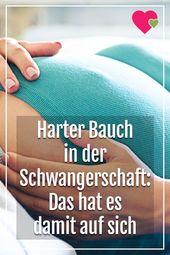 Harter Bauch in der Schwangerschaft: Das bedeutet es – NetMoms.de