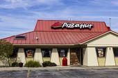 Kokomo – ca. Oktober 2016: Pizza Hut Fast Casual Restaurant. Pizza Hut ist ein …