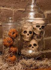 20 idées Pinterest pour vous faire un décor d'Halloween mémorable!
