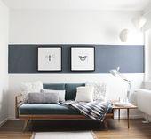 Gästezimmers blaue Stunde