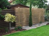 Sichtschutz aus bambus als gestaltungselement von gh product solutions mediterran