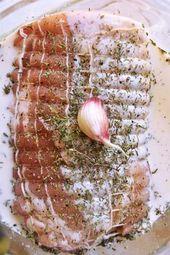 Rôti de porc au lait – Recette facile