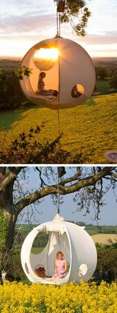 Moon hanging tent