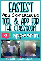 Easiest Web Conferencing Tool & App for the Classroom: appear.in