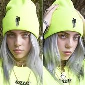 Billie Eilish Knitted Skullies Beanie Hat – Billie Eilish