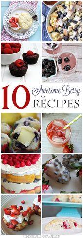 10 Delicious Berry Recipes