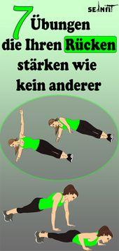 7 Übungen, die Ihren Rücken stärken wie kein anderer