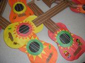 cinco+de+mayo+arts+and+crafts+for+children   Cinco de Mayo Mariachi guitars and corn…